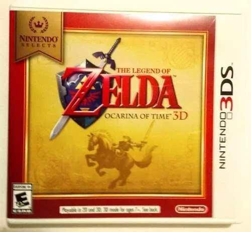 Zelda Ocarina Of Time Nintendo 3ds Video Juego En Caja