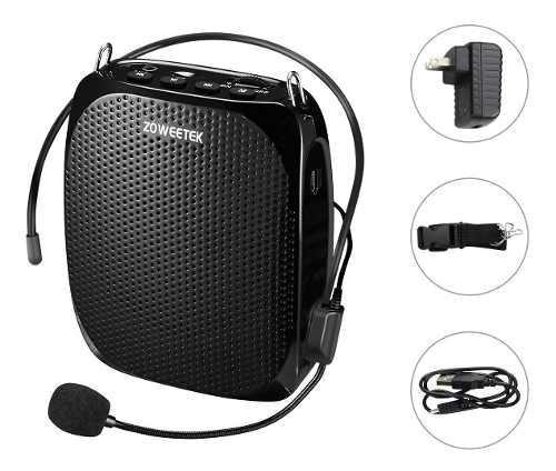 Zoweetek Mini Amplificador De Voz Portátil Recargable Con