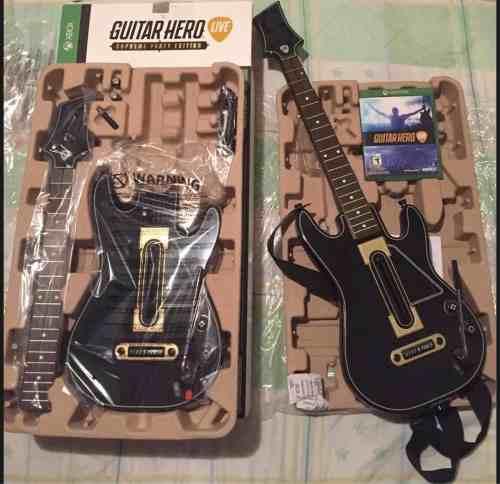 Guitar Hero Live Xbox One Juego Y Dos Guitarras Inalambricas