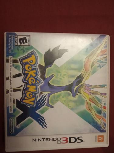 Juego Nintendo 3ds Pokemon X