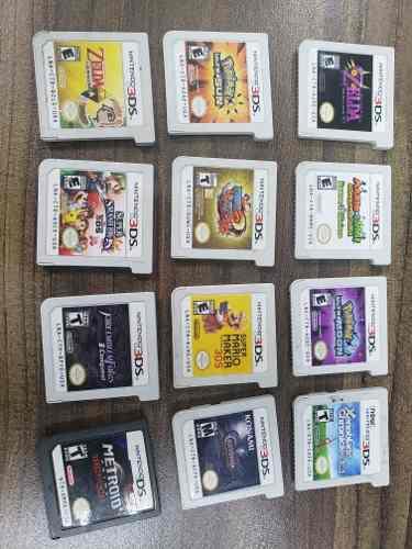 Juegos Pars Nintendo 3ds 650 Cada Uno Pokemon Mario Luigi