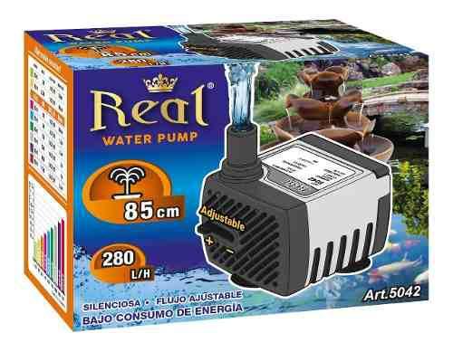 Bomba Agua Sumergible Fuente Pecera Acuario 280l/h 85cm 5042