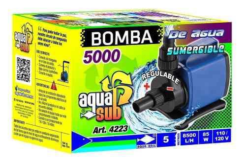 Bomba De Agua 5m Acuario Fuente Muro Lloron Hidroponía 4223