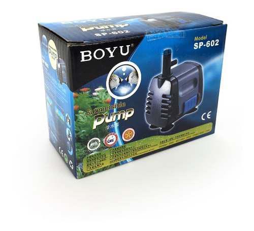 Bomba De Agua Boyu Sp602 Pecera Acuario 340l/hra