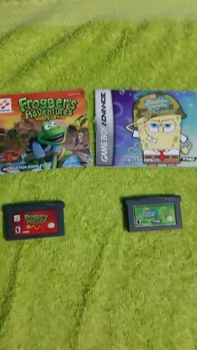 Juegos De Game Boy Advance Con Manuales