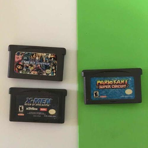 Juegos Game Boy Advance (lote 3 Juegos)