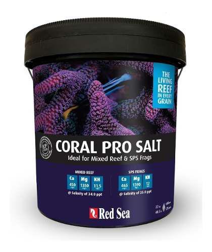 Sal Para Acuarios Marinos Red Sea Coral Pro 22 Kilos