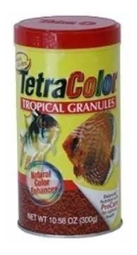 Tetra Color Granulado 300 Gramos Precio Especial