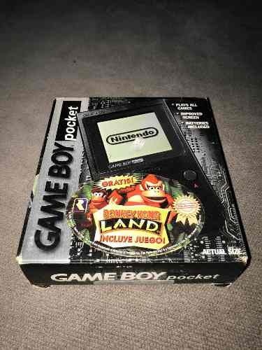 Consola Game Boy Pocket Donkey Kong Land Bundle!!! En Caja