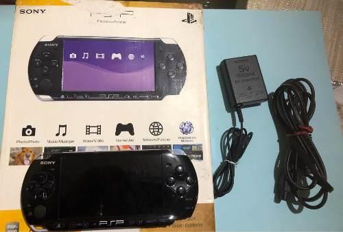 Consola Psp Slim  Con Accesorios Y Juegos