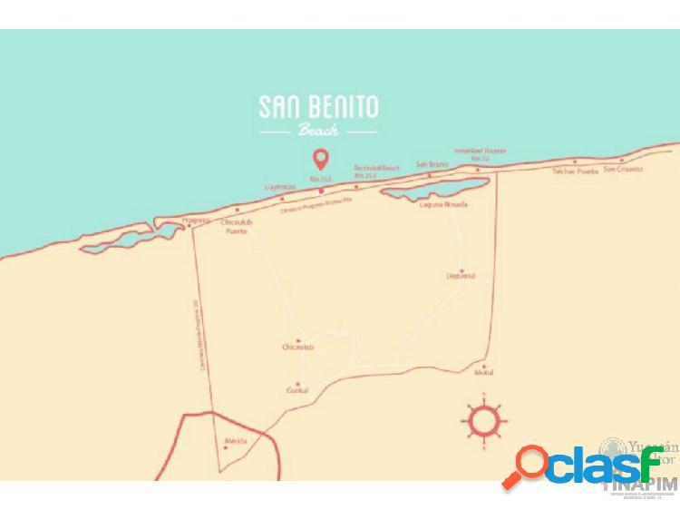 De oportunidad, terreno en venta en San Benito
