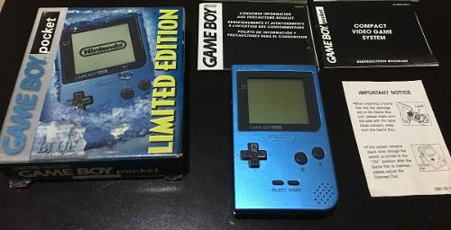 Game Boy Pocket Ice Blue Limited Edition