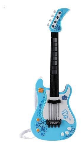 Multifuncional Niños Bajo Guitarra Juguete Niños Luz