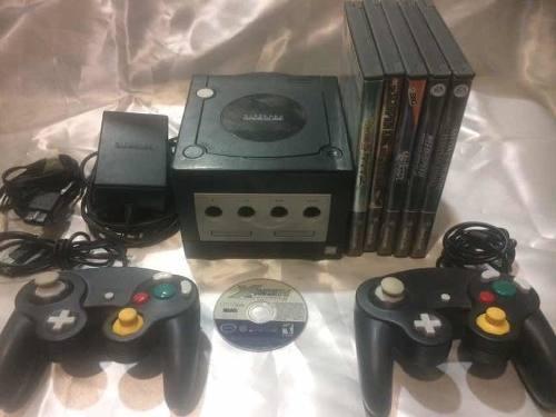 Nintendo Game Cube + 6 Juegos + 2 Controles, Garantizado.