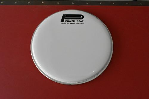 Parche Para Batería Remo Power Beat Blanco 10'