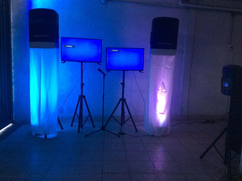 Renta de audio y karoke dj para fiestas y eventos