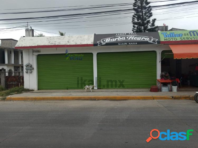 Renta local comercial Col. La Calzada Tuxpan Veracruz, La