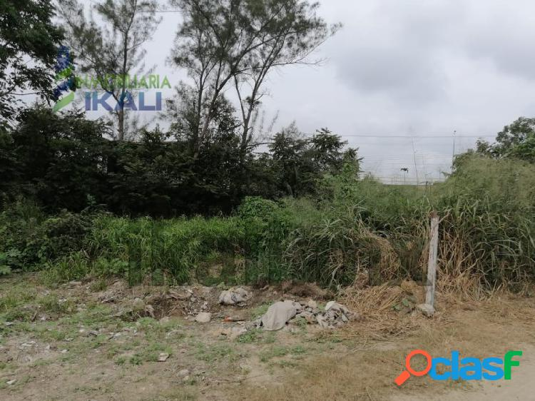 Renta terreno 348 m² Col. Villa Rosita Tuxpan Veracruz,