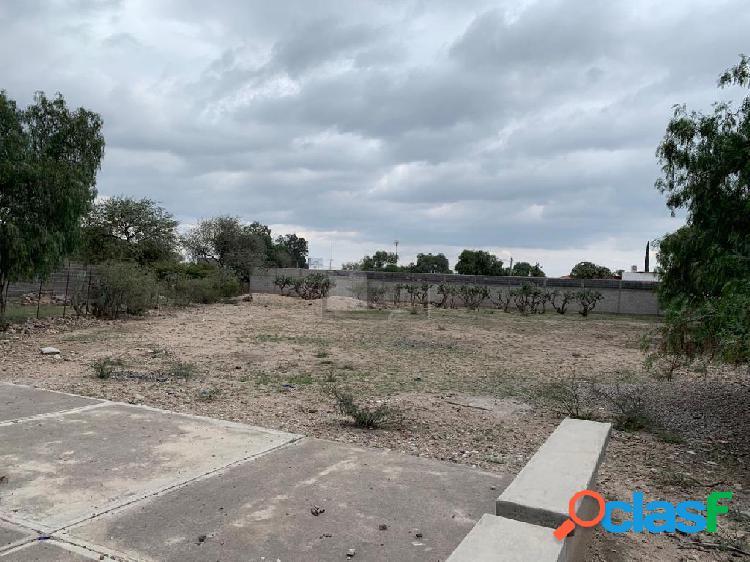 Terreno comercial en venta en Tierra Blanca, San Luis