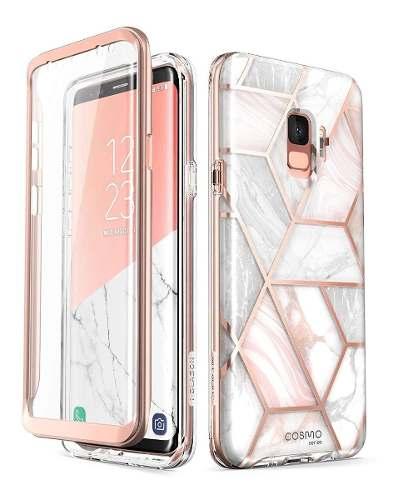 Funda Con Mica Samsung Galaxy S9 I-blason Cosmo Mármol