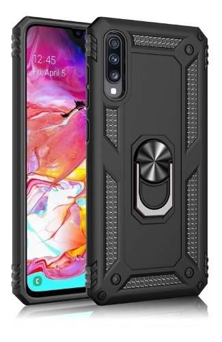 Funda Uso Rudo Magnetica Samsung Galaxy A50 / A70 + Cristal