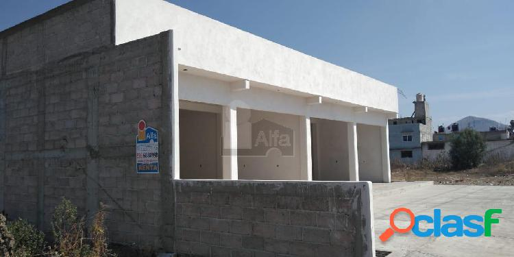 Local comercial en renta en La Concepción, Tezoyuca,