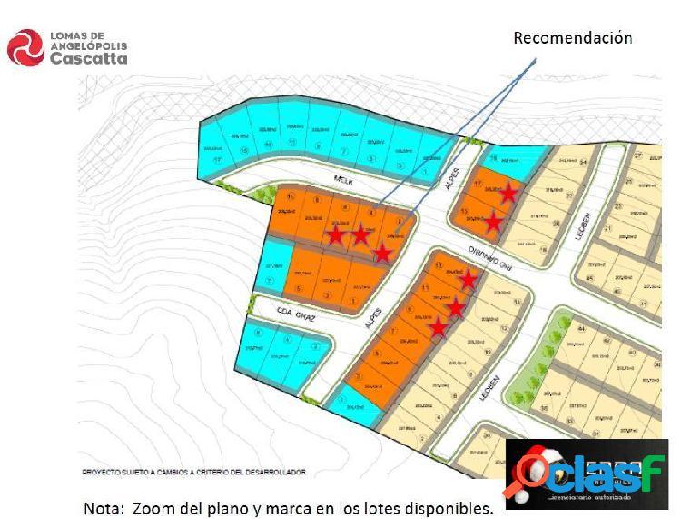 Terreno en venta en Lomas de Angelopolis San Andres Cholula