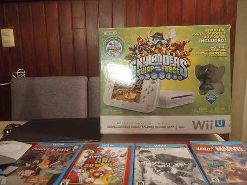 Consola Videojuego Wiiu Con 14 Juegos
