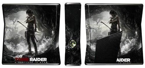 Pielespiel De Juego Tomb Raider Para Xbox 360 Slim Consol..