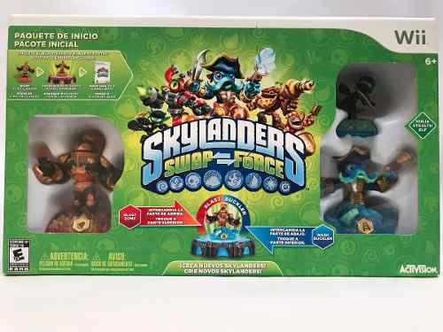 Skylanders Swap Force Wii Official Nintendo Seal