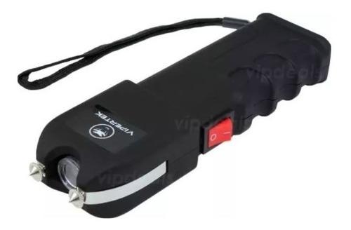 Stun Gun Paralizador Vipertek Vts 989 Con 19 Mv - T182