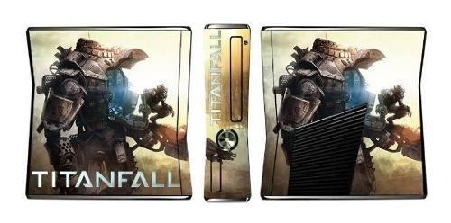 Titanfall Juego De Piel Para La Consola Xbox 360 Slim