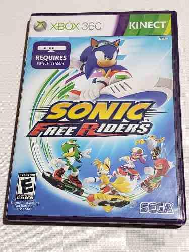 Videojuego Sonic Free Riders Xbox 360