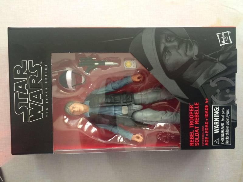 Black series figuras Han Solo Bespin y Soldado
