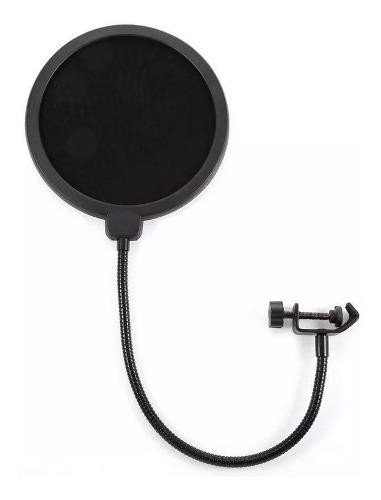 Filtro Antipop Para Microfonos Con Soporte Ajustable Radox