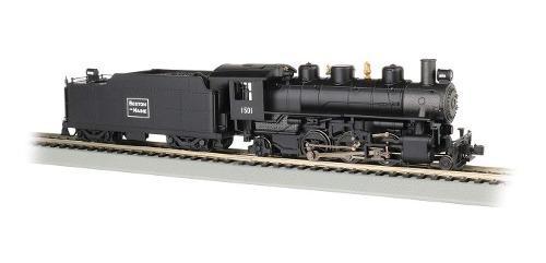 Locomotora De Vapor Prairie 2-6-2 W/smoke & Tender - Boston