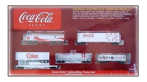 Oferta.- Set Tren De Inicio Coca Cola Escala Ho