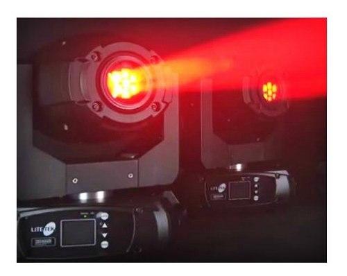Par De Cabezas Móviles Spot Con Rack Led Spot 150 Lite Tek