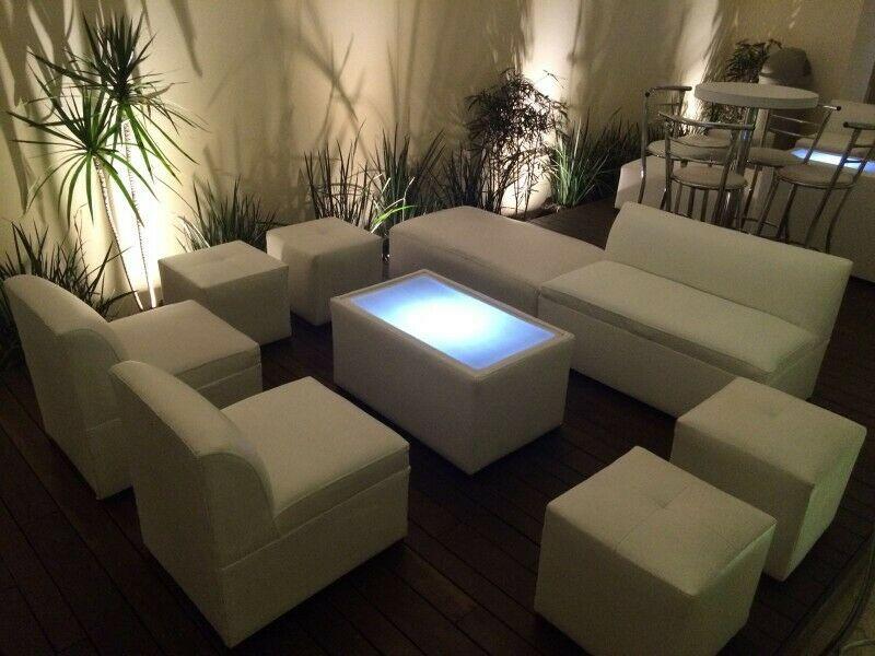 Renta de Salas Lounge y Periqueras en Toluca y Metepec