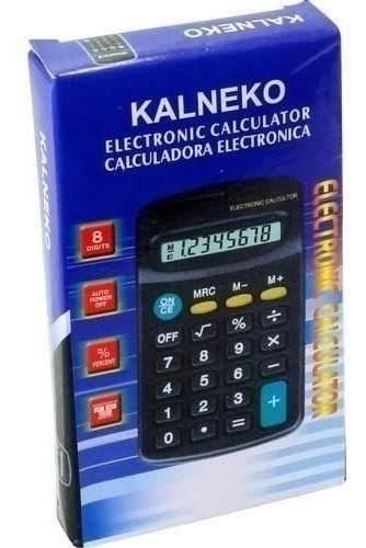 Calculadora Kk-402 De 8 Dig. Precio Mayoreo $ Cotiza!!