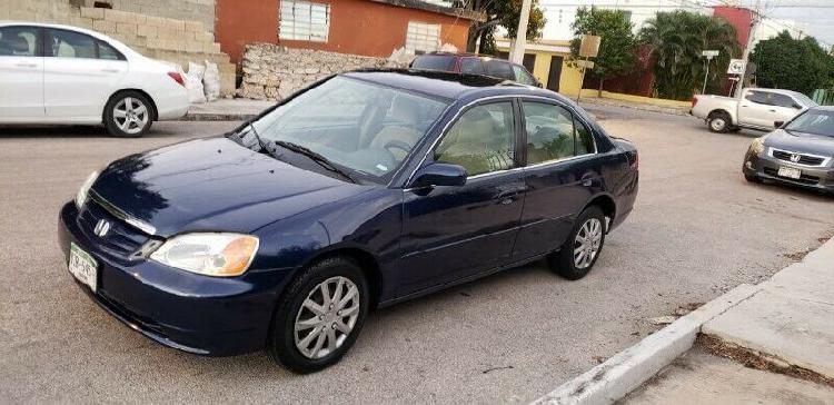 Civic LX 2001 aut con clima bolsas de aire electrico motor 4