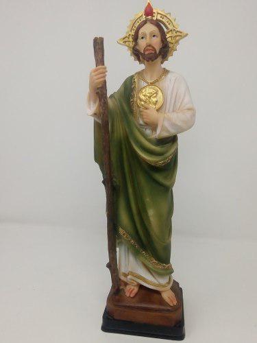 San Judas Tadeo Iglesia Figura Estatua 36cms