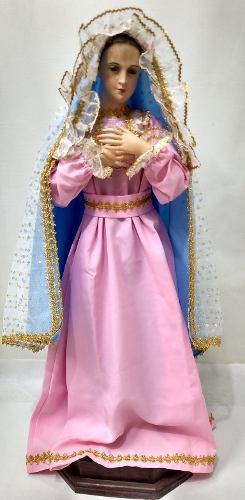 Virgen Maria O Inmaculada De Vestir 86 Cm