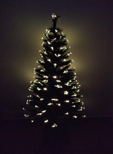 Árbol De Navidad De Fibra Óptica