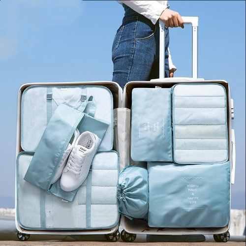 7pcs Bolsas Organizadoras De Maletas Para Viaje