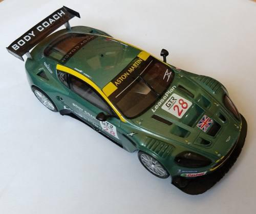 Auto Scalextric The Digital System X Aston Martin Dbr-9