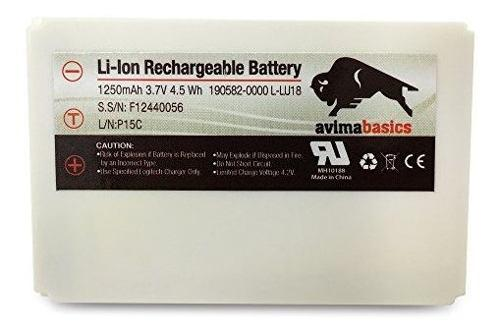 Avimabasics Premium Batería Recargable Para Logitech