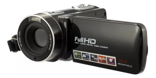 Cámara De Video Digital Full Hd 24 Mp Videocámara Cmos
