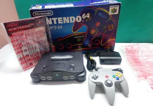 Consola Nintendo 64 N64 En Caja En Buen Estado Envío Gratis