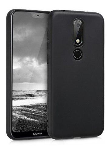 Funda Funda De Silicona Kwmobile Tpu Para Nokia 61 Plus 2018